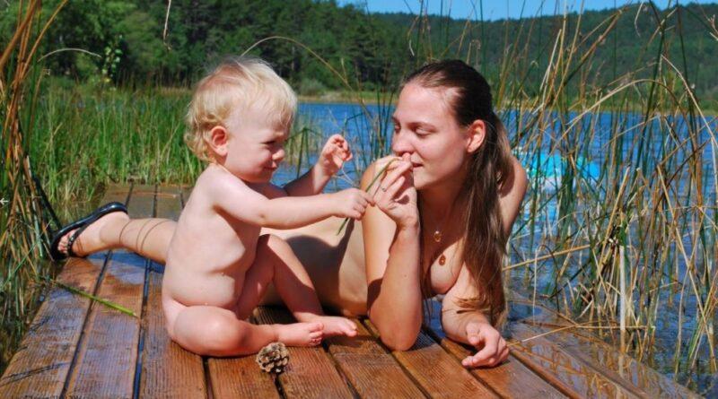 Nós família naturista