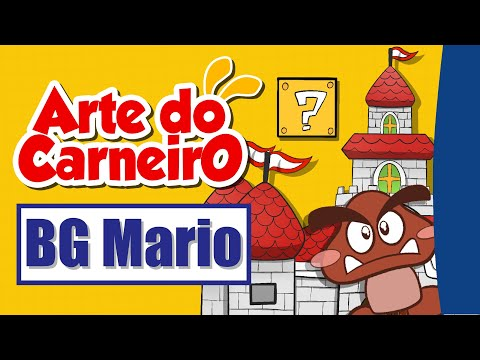 Bastidores: criando cenário de MARIO / Background (BG) of Mario in Time-Lapse