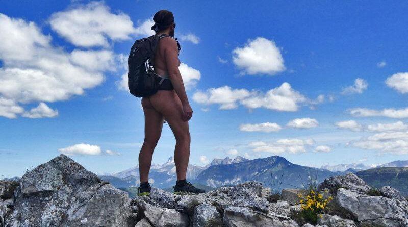 Caminhadas naturistas nos Hautes-Alpes