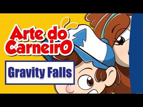 Como desenhar Gravity Falls   Fácil de fazer #passoapasso | Drawing Gravity Falls