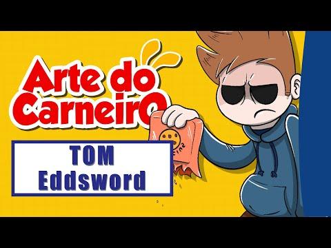 Como desenhar a TOM de Eddsword Fácil de fazer #passoapasso | Drawing Tom Eddsword