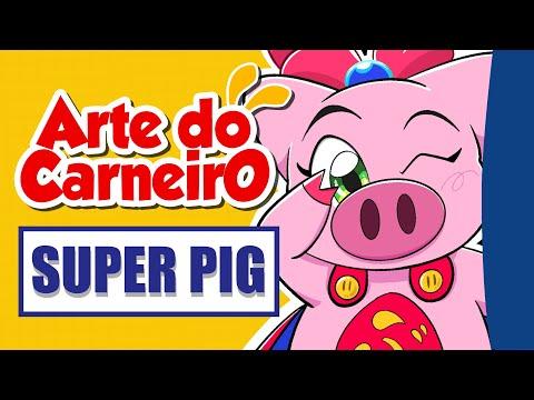 Como desenhar SUPERPIG Fácil de fazer #passoapasso | Drawing SUPERPIG ANIME
