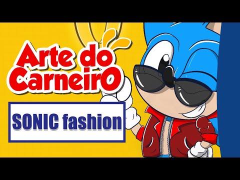Como desenhar SONIC classico e o SONIC do filme fácil de fazer #passoapasso | Drawing Sonic