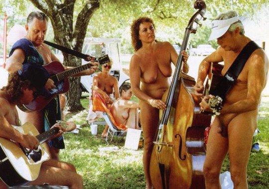 Sunday Noon Musical Nudist