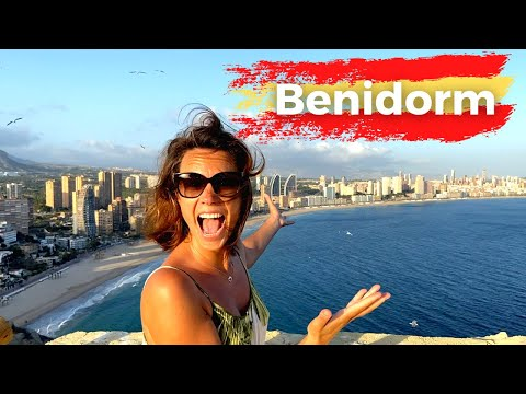 The Beaches of Benidorm, Spain