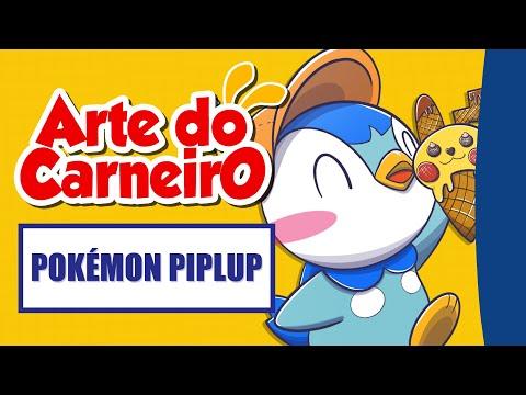 ANIVERSÁRIO 25th Pokémon! – Desenhando o PIPLUP  #passoapasso | Drawing POKÉMON PIPLUP