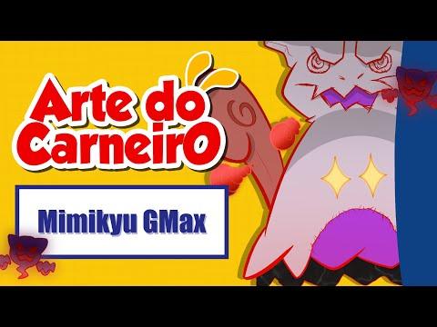 Desenhando o MIMIKYU GIGANTAMAX – fácil de fazer #passoapasso | Drawing Mimikyu G-MAX