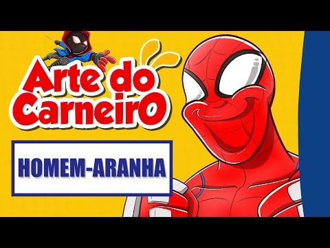 Desenhando dois Homem-Aranha – fácil de fazer #passoapasso | Drawing Spiderman | @Rk Play