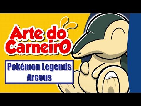 Pokémon LEGENDS ARCEUS! – Desenhando CYNDAQUIL, OSHAWOTT e ROWLET #passoapasso