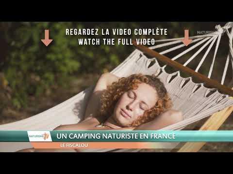LE FISCALOU, UN CAMPING NATURISTE EN FRANCE (EXTRAIT)