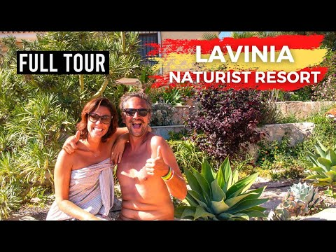 A Typical Day at Lavinia Naturist Resort in Alicante, Spain