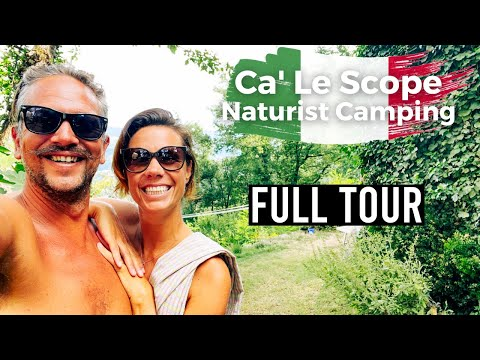 We visited one of the oldest naturist campsites in Italy | Italy Road Trip Ep 11