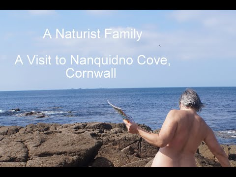 A Naturist Family # 25 A Visit to Nanquidno Cove