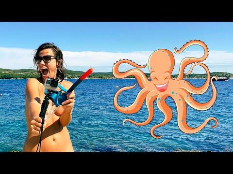 Can we find an octopus at Koversada Naturist Park in Croatia? + FULL RESORT TOUR